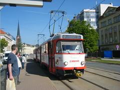 Olomouc tram No. 162 (johnzebedee) Tags: tram transport vehicle tatra publictransport olomouc czechrepublic johnzebedee