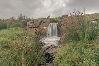 Tiny Dartmoor Waterfall