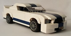07 Shelby GT500 (GalacticGravitySurfer) Tags: 2007 ford shelby gt500 lego