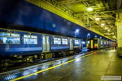 CardiffCentralRailStation2017.11.21-54 (Robert Mann MA Photography) Tags: cardiffcentralrailstation cardiffcentralstation cardiffcentral cardiff southglamorgan southwales cardiffcitycentre city cities citycentre 2017 autumn tuesday 21stnovember2017 train trains railway railways station stations trainstation trainstations railstation railstations railwaystation railwaystations arrivatrainswales class175 class150 sprinter class150sprinter class143 pacer class143pacer class142 class142pacer greatwesternrailway gwr firstgreatwestern class43 hst class43hst mark3 mark3carriages nightscape nightscapes