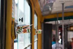 Check-in (Julian Hofmans) Tags: tram inchecken checkingin ukrain lviv streetlife