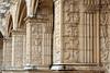 Mosteiro dos Jerónimos (H&T PhotoWalks) Tags: cloister monastery column architecture sculpture belém lisboa lisbon portugal canoneos350d canon28135 stonework building panel xiii