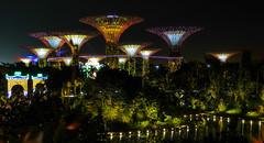 Gardens by the Bay - Singapore (evansmark425) Tags: singapore marina bay gardens by night