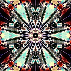 """Kaleidoscope"" with a 1950's Pontiac Star Chief (delmarvausa) Tags: vintage car automobile pontiac classiccars classicpontiac vintageautomobiles classics starchief pontiacstarchief vintagecar carsofthepast yesteryear americanautomobiles vintagecars aqua teal automobiles classicautomobiles colorful alteredart altered artistic color kaleidoscope fifties carsofthe1950s 1950s 50s vintageautomobile classic oldcars classicautomobile"