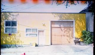 yellow warehouse
