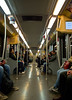 U-Bahn / Subway (schreibtnix on 'n off) Tags: reisen travelling italien italy mailand milan ubahn subway menschen people olympuse5 schreibtnix