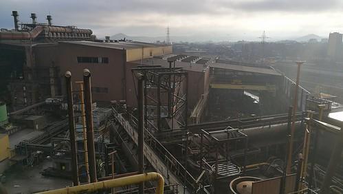 Visite du HF4 et terril de Charleroi- décembre 2017