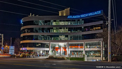 Atlanta, GA: Atlanta Tech Village (nabobswims) Tags: atlanta atlantatechvillage ga georgia hdr highdynamicrange ilce6000 lightroom nabob nabobswims night nightfoto photomatix sel18105g sonya6000 us unitedstates buckhead