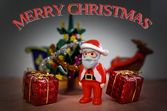 a big Merry Christmas to everyone ! (Franck Zumella) Tags: merry christmas joyeux noel 2017 decembre december santa claus pere playmobil 123