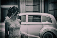 la bellezza della sposa (Ste_✪) Tags: eos760d canada canadá montreal quebec ottobre2016 matrimonio boda wedding sposa nozze bride bentley potrait ritratto streetphotography beauty sundaylights