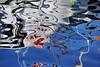 Signs on the water 1 (GintarasJ) Tags: reflection atspindys abstrakcija abstract klaipėda judesys movement distortion patch line dot dėmė linija taškas nikon d700 nikond700