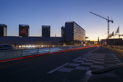 URBAN LIGHT (Geoffroy Hauwen) Tags: canon 28mm city cityscape urban light lille france europe sky building road bus