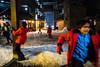 Peyragudes, France. January 2018 (Victor M. Perez) Tags: 28mm leicam10 leica streetphotography play night children snow neige ski france peyragudes