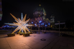 Star on Berlin Dom (Sascha Gebhardt Photography) Tags: nikon nikkor d850 lightroom langzeitbelichtung berlin hauptstadt germany deutschland photoshop travel tour roadtrip reise reisen fototour fx cc night nacht