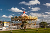 Seasons End (L I C H T B I L D E R) Tags: england devon torquay karussell roundabout carrousel merrygoround sky clouds playground kirmes funfair