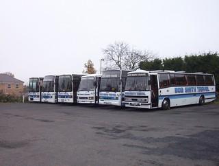 Bob Smith Travel - B10BST, B9BST, A16BST, RIL4827, B8BST and RIL4828 - North-East-Independents20030413