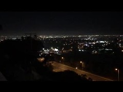 038 The View From The Balcony (saschmitz_earthlink_net) Tags: 2017 california southerncaliforniagrotto christmasparty losangelescounty baldwinhills windsorhills party climbing practice