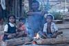 Maikal hills - Chhattisgarh - India (wietsej) Tags: sonydslra700 sonysal70200g a700 70200 sal70200g maikal hills chhattisgarh india morning fire family children tribal rural village