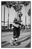 Roller / Venice / (c) abottleinthesea (a_bottleinthesea) Tags: nikon f100 nikkor50mmf14d trix 400tx ilfosol3 nikonpassion blackandwhite blackwhite monochrome noiretblanc venice losangeles etatsunis california californie roller beach boardwalk believeinfilm filmisnotdead homeprocessing analogphotography argentique