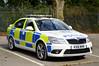 KX61 MVR (S11 AUN) Tags: northamptonshire northants police skoda octavia vrs anpr interceptor traffic car rpu roads policing unit 999 emergency vehicle kx61mvr