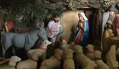 Krippe / Crib / Crèche (schreibtnix on 'n off) Tags: jahreszeiten seasons weihnachten christmas krippe crib crèche