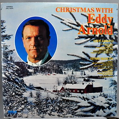 Christmas with Henry Mancini /Christmas with Eddy Arnold (Arnold Side) (Funkomaticphototron) Tags: coryfunk christmas album vinyl record lp 33rpm cover