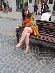 On Halytska Street (L.Gennady2) Tags: prettywoman lviv