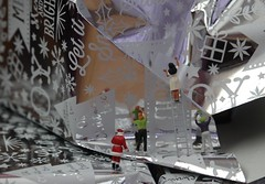 Santa's Little Helpers (amanda_shirlow) Tags: microworlds miniature macro mini micro miniatureworld microscopic littlepeople lilliput little small scale santa tinypeople tiny tinyworld christmas canon figures festive funny preiser photography puns prieser hoscale humour ho train