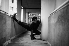 Elie (Alexia Abakar) Tags: elie androgyn men girl street dance danse bw nb monochrome blackandwhite black white blackwhite clothes portrait movement mjc toulouse urban pale muse portraitphotography
