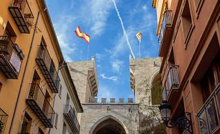 The Historic Torres de Quart (Medieval City Gate - Wall) Valencia (Fujifilm X100F 23mm f2 Compact) (1 of 1)