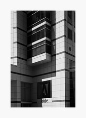 (bnishimoto) Tags: fuji fujifilm myfujifilm downtown sanjose bayarea xpro2 1855mm acros urban architecture bw monochrome geometric