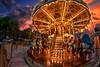 carousel (ezequiel esteban) Tags: carousel atardecer horadorada luces viñadelmar fotografia canon canon760d goldenhour carrusel infantil