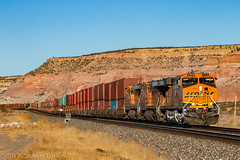 BNSF 7773 West: Lupton, Arizona (Z-Trains) Tags: bnsf arizona seligman subdivision sub apache railroad apacherailroad seligmansubdivision northernarizona trains train alco mlw c420 c424