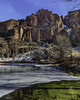 owyhee river-12-31-17-34 (Ken Folwell) Tags: mountains cliffs landscapes outdoors redrock river ice winter moss algae oregon