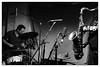 Joe McPhee & Paal Nilssen-Love @ Cafe Oto, London, 8th December 2017 (fabiolug) Tags: sax saxophone tenorsax tenorsaxophone drums drummer joemcphee paalnilssenlove duo improvisation improv freejazz jazz avantgardejazz avantgarde experimental cafeoto london dalston music gig performance concert live livemusic leicammonochrom mmonochrom monochrom leicamonochrom leica leicam rangefinder blackandwhite blackwhite bw monochrome biancoenero 35mmsummicronasph 35mmf2summicronasph summicronm35mmf2asph summicron35mmf2asph 35mm summicron leicasummicron leica35mm