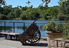 Cart Wheels (ACEZandEIGHTZ) Tags: lake nikon d3200 zoo zoomiami dadecounty metrozoo scenery cart wheels foliage saariysqualitypictures