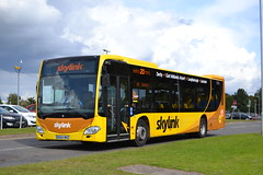 Trent Barton Skyink 910 BX64WHZ (Will Swain) Tags: east midlands airport 17th september 2017 bus buses transport travel uk britain vehicle vehicles county country england english trent barton skyink 910 bx64whz