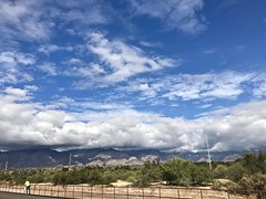 Clouds On The Catalina Mountains This Morning (Chic Bee) Tags: wintermonsoon monsoon clouds mountains catalinamountains tucson arizona southwesternusa americansouthwest sky