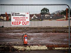 Health and safety gone mad - LR6-191136-web (David Norfolk) Tags: chippenham england gb aldisite fireextinguisher olympus em1mk2 12100mm