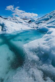 Glacial Lake on Matanuska Glacier