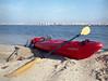 Big Red Kayak (tuyddatygl) Tags: film kodakektar kayaking dnieper kiev manilovefilm