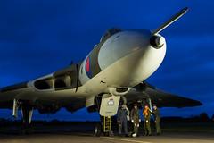 Avro Vulcan B2 - 51 (NickJ 1972) Tags: wellesbourne airfield avro 698 655maps maps vulcan b2 photoshoot photo photocall shoot nightshoot night timeline events tle xm655
