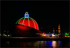"""""""DOT"""".............the biggest Christmas ball in the world (atsjebosma) Tags: dot ball christmas atsjebosma groningen thenetherlands nederland colourful church martinikerk coth5"""