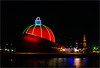 """DOT"".............the biggest Christmas ball in the world (atsjebosma) Tags: dot ball christmas atsjebosma groningen thenetherlands nederland colourful church martinikerk coth5"