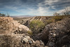 View Of Tripp Canyon (BP3811) Tags: 2017 arizona blue canyon december safford tripp trippcanyonroad clouds deep desert dirt eroded erosion landscape road rocks sand scenic sky steps terraced
