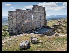 Acinipo : Roman Theatre (Theo Van Rompaey) Tags: acinipo rondaantiqua arunda romans theatre iberia