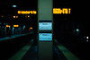 20171223 (Homemade) Tags: station trainstation railroadstation metronorth amtrak crotononhudson ny newyork nikon2470mmf28 nikkor2470mmf28 platform track train rail transit publictransport dof bokeh sign track1 track3 night winter crotonharmon westchestercounty