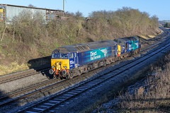 57303 & 37059 (Tomahawk Photography) Tags: 57303 37059 ukrail ukrailways rail railway railways britishrailways bromsgrove train drs directrailservices class37 class57