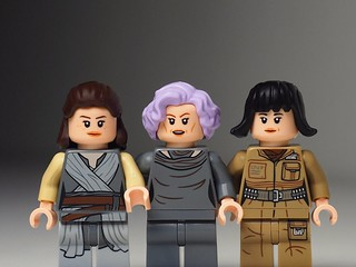 My favorite The Last Jedi Lego minifigures..❤