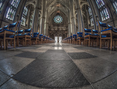 Does God feel our pain? (Wizard CG) Tags: bristol cathedral hdr uk architecture gothic college green olympus epl7 ngc world trekker micro four thirds 43 m43 mzuiko digital ed tourist attraction light windows church building indoor fisheye ceiling room people symmetry vault road window arch